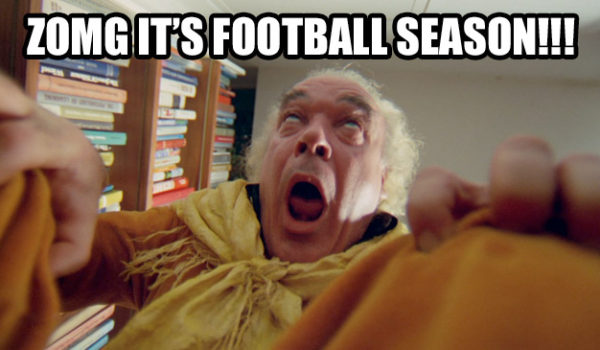 ZOMG It's Football Season!