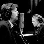 McCartney and Krall recording for Kisses on the Bottom