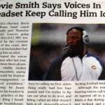 lovie smith newspaper idiot